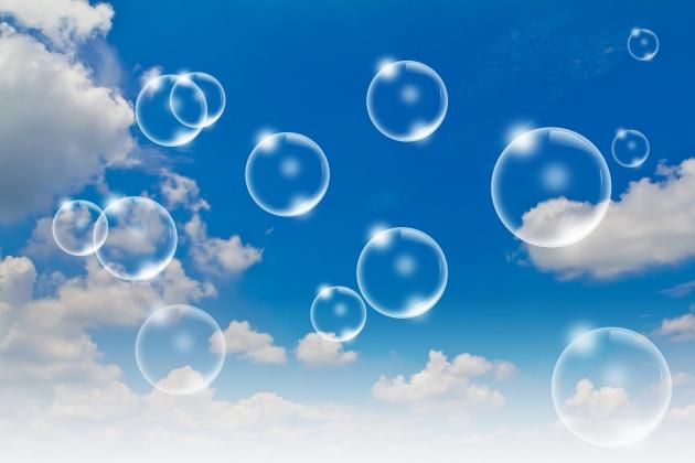 Bubbles in the sky Bubbles in the sky - foto creata da jannoon028 - it.freepik.com